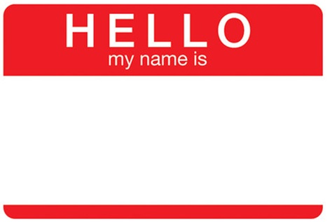 Hello… my name is